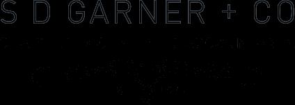 S D Garner + Co Logo